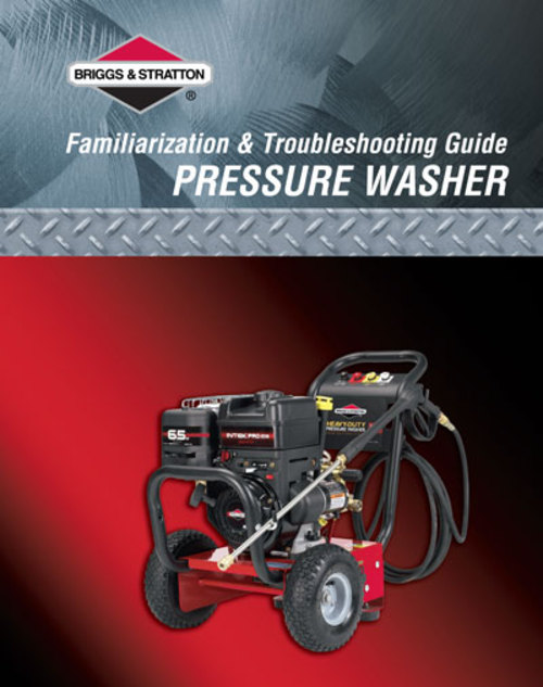 Product picture Briggs and Stratton Pressure Washer Manual #B3277GS PDF