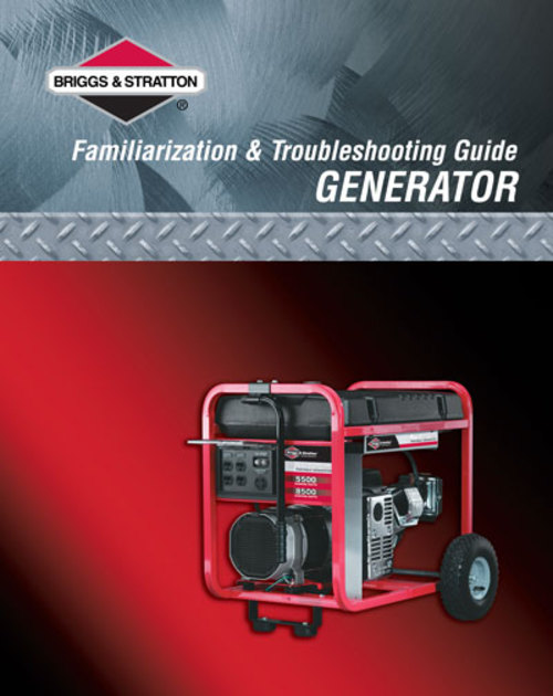 Product picture Briggs Generator Repair Manual #86262GS PDF- for only $7!...